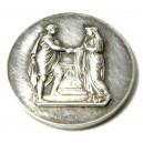 Médaille de mariage argent 1906