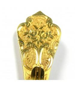 Epingle de coiffe ancienne en or